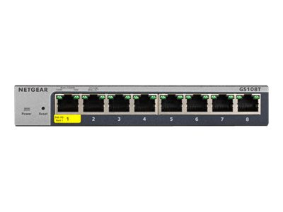 NETGEAR Smart GS108Tv3 - switch - 8 ports - smart