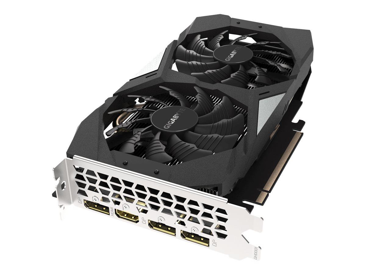 Gigabyte GeForce GTX 1660 OC 6G - OC Edition - graphics card - GF GTX 1660 - 6 GB
