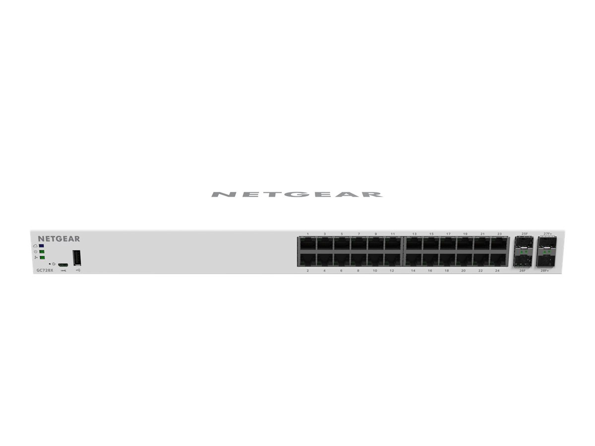 NETGEAR Smart GC728X - switch - 24 ports - smart -...