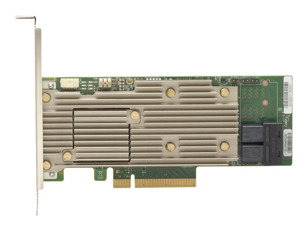 Lenovo ThinkSystem 930-8i - storage controller (RAID) - SATA / SAS 12Gb/s - PCIe 3.0 x8