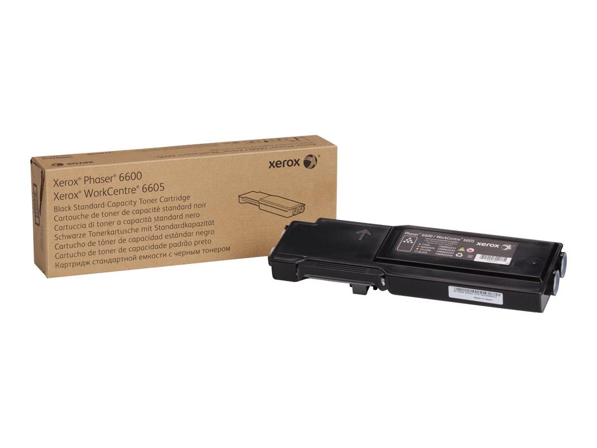 Xerox Phaser 6600 - black - original - toner cartridge