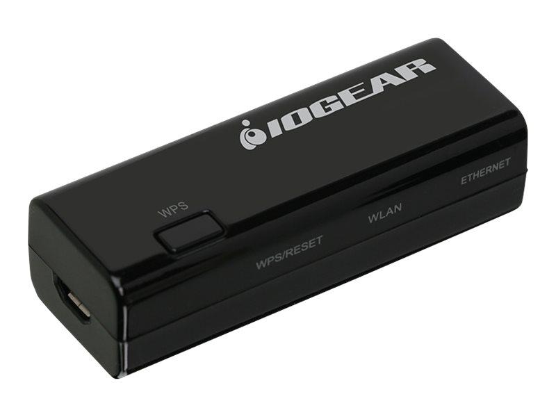 IOGEAR Ethernet-2-WiFi Universal Wireless Transmitter - bridge - 802.11b/g/n - desktop