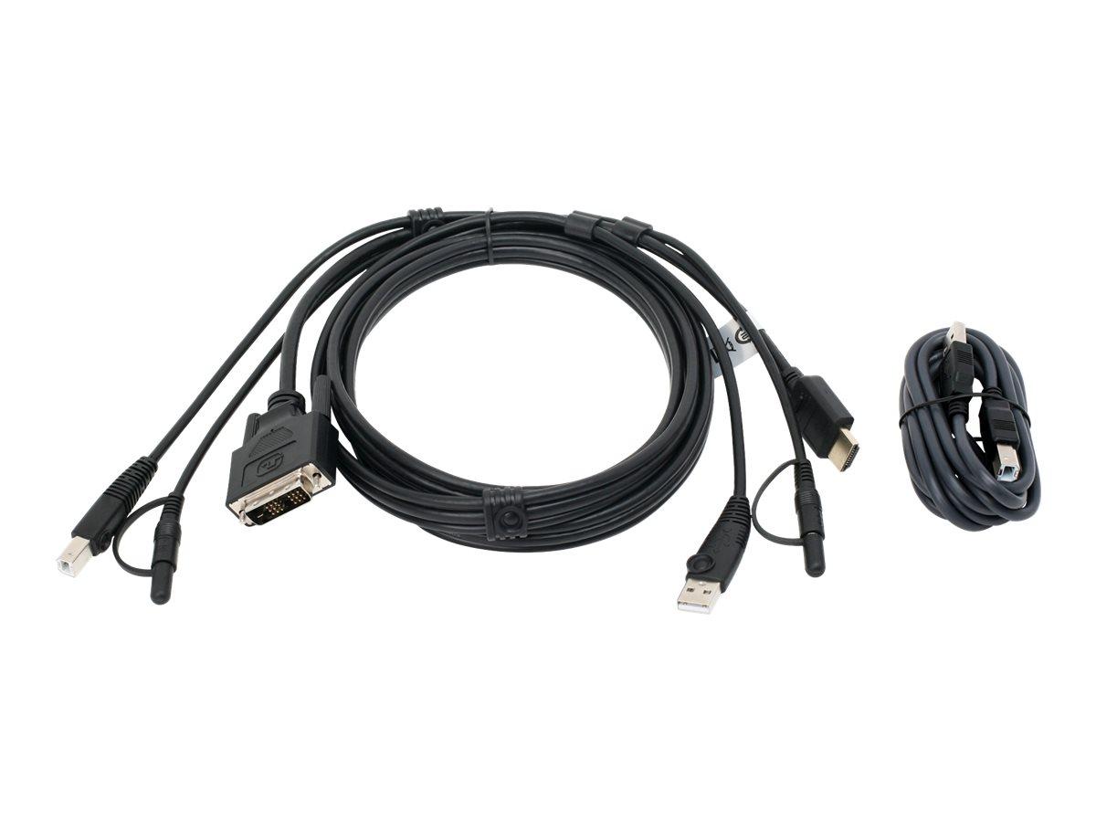 IOGEAR keyboard / video / mouse (KVM) cable - TAA Compliant - 6 ft