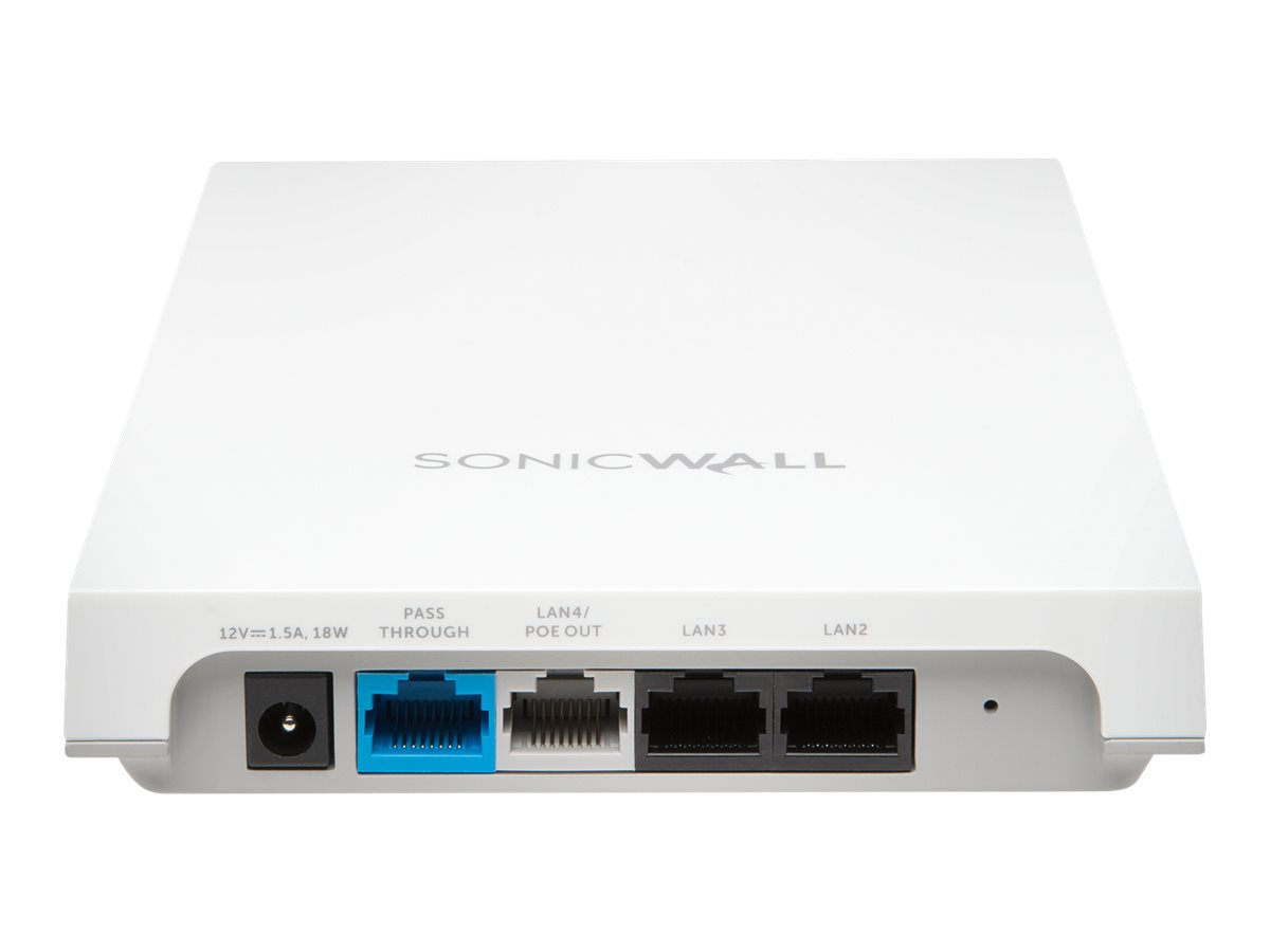 SonicWall SonicWave 224w - wireless access point - with 1 year Secure Cloud WiFi Management and Support