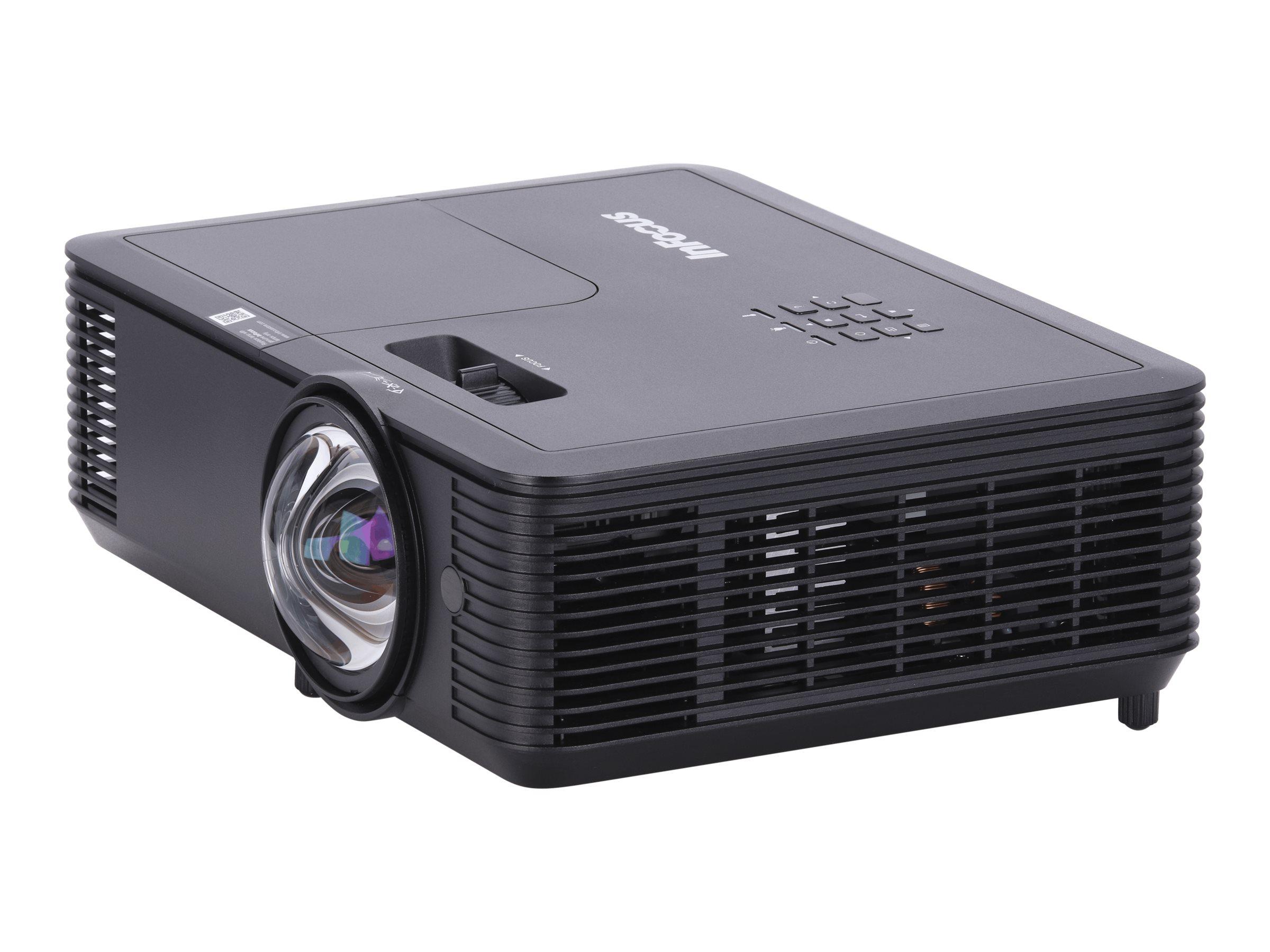 InFocus Genesis IN118BBST - DLP projector - short-throw - portable - 3D