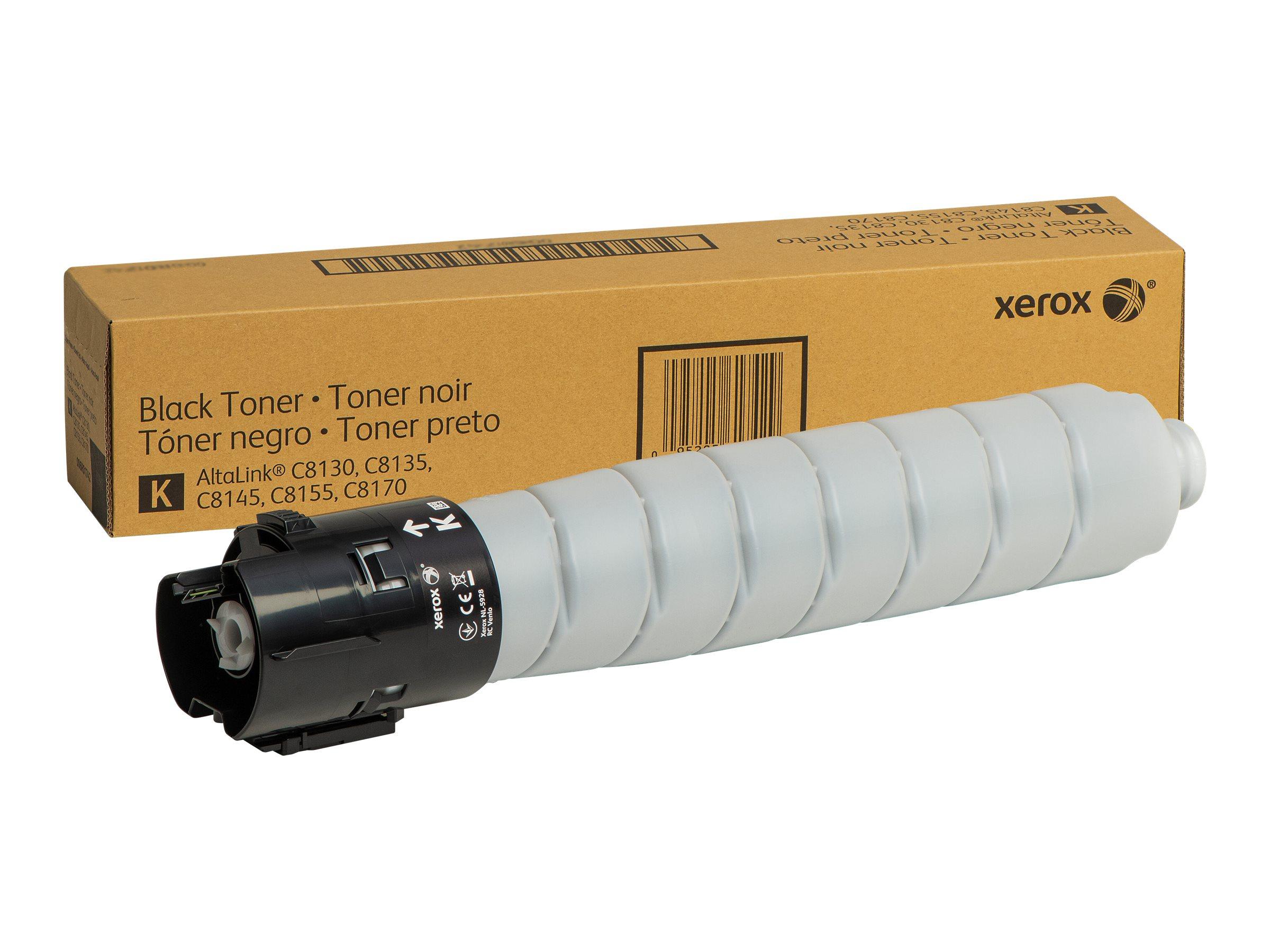 Xerox AltaLink C8130/35/45/55/70 - black - original - toner cartridge