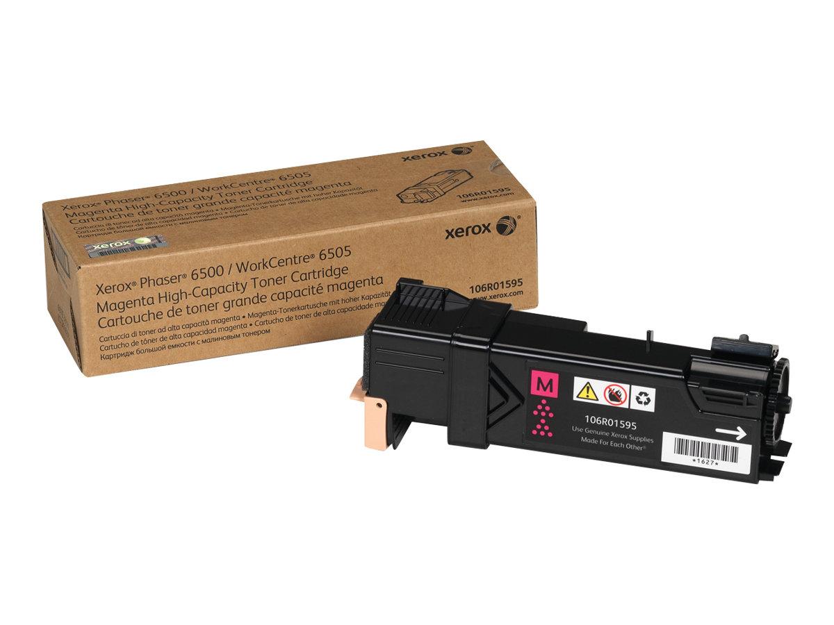 Xerox Phaser 6500 - High Capacity - magenta - original - toner cartridge