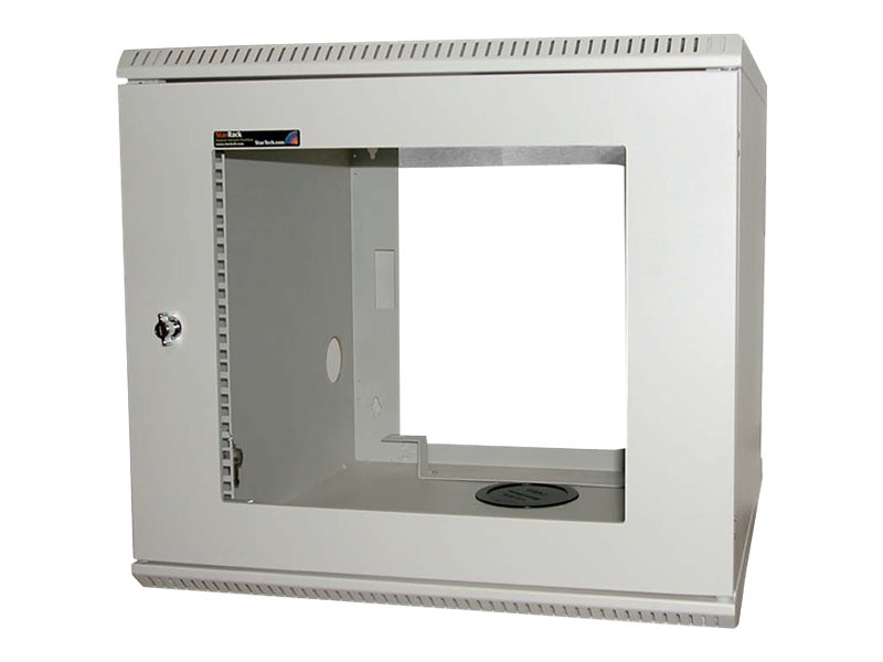 StarTech.com 10U 19in Wall Mounted Server Rack Cabinet system cabinet - 10U