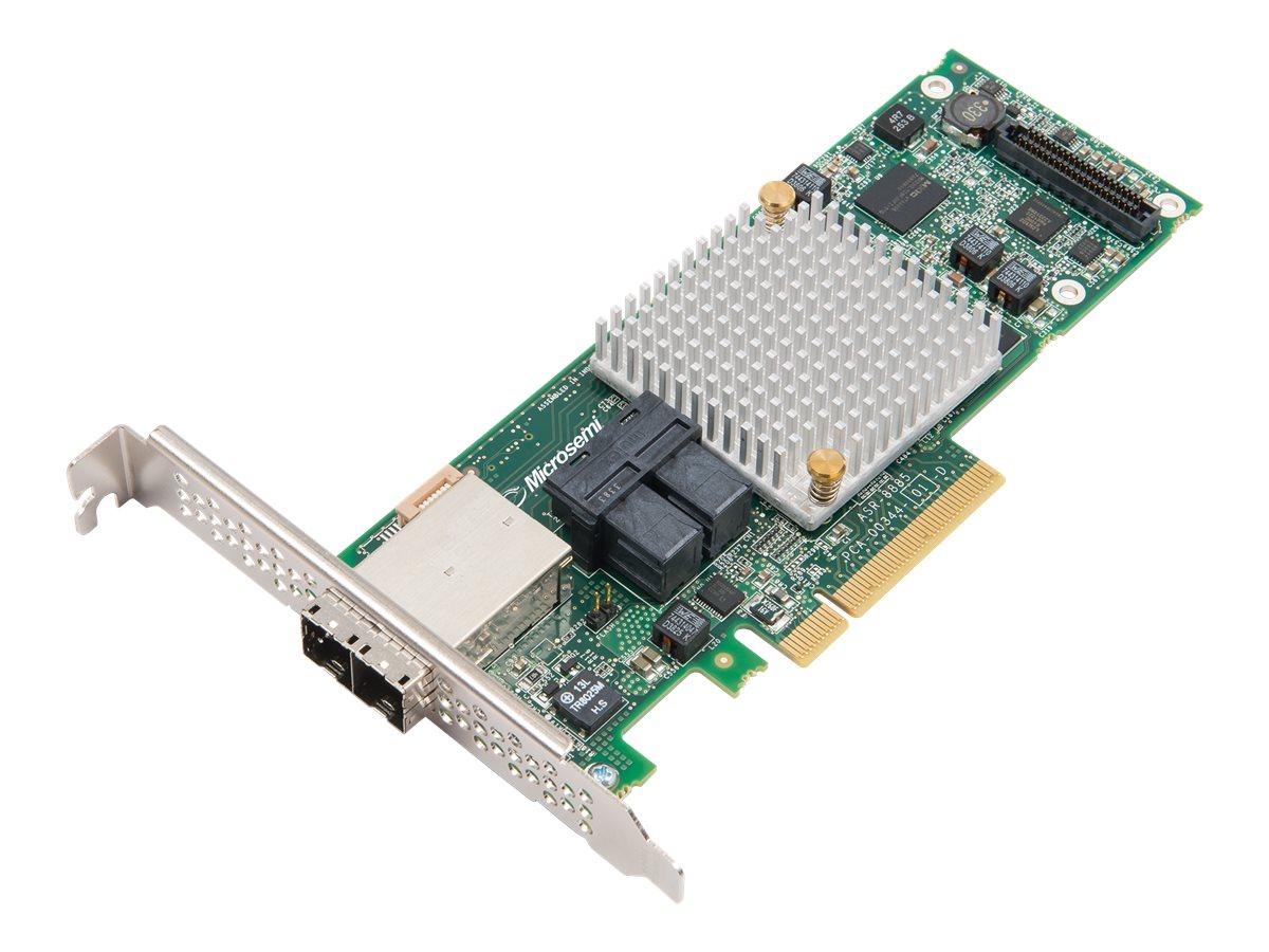 Microchip Adaptec 8885 - storage controller (RAID) - SATA 6Gb/s / SAS 12Gb/s - PCIe 3.0 x8