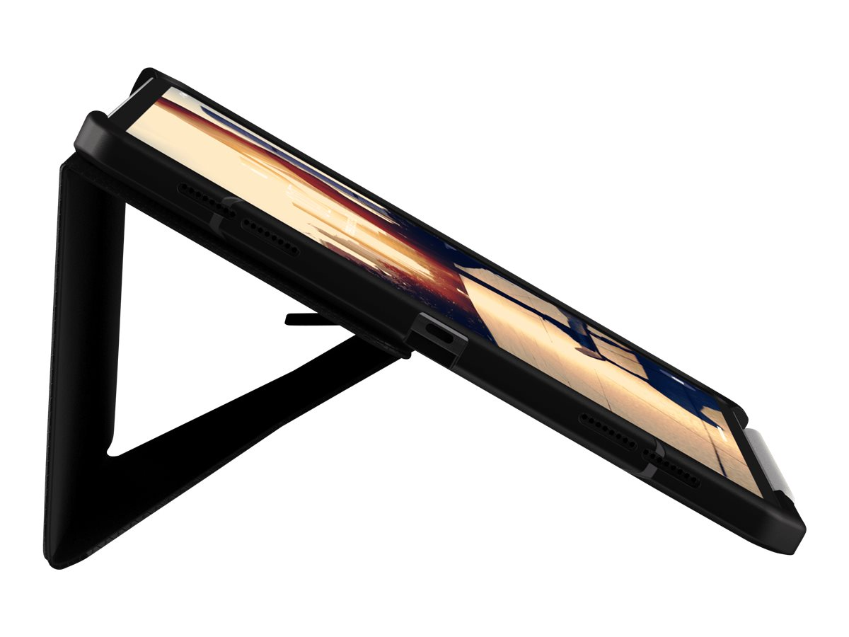 UAG Rugged Case for iPad Pro 12.9-inch (3rd Gen, 2018) - Metropolis Black - flip cover for tablet