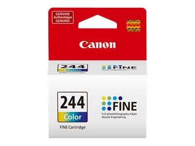 Canon CL-244 - color (cyan, magenta, yellow) - original - ink cartridge
