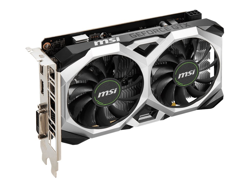 MSI GeForce GTX 1650 D6 VENTUS XS OCV1 - graphics card - GF GTX 1650 - 4 GB