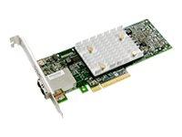 Microchip Adaptec HBA 1100 8e - storage controller - SATA 6Gb/s / SAS 12Gb/s - PCIe 3.0 x8