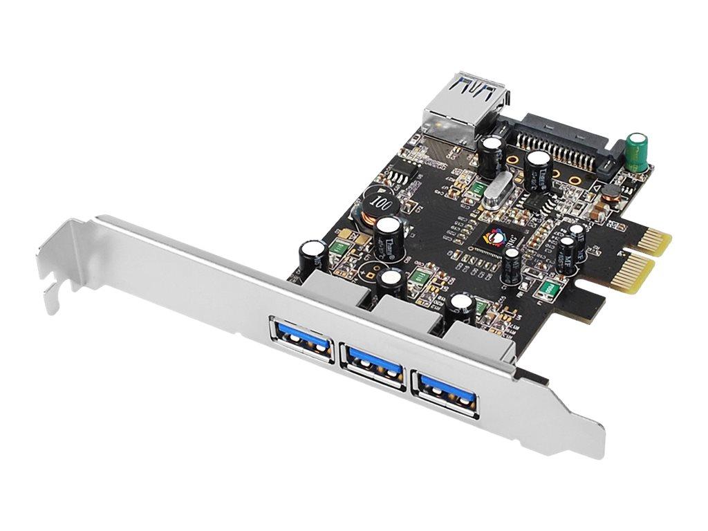 SIIG JU-P40611-S2 - USB adapter - PCIe 2.0 - USB 3.0 x 4