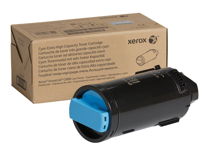 Xerox VersaLink C600 - Extra High Capacity - cyan - original - toner cartridge