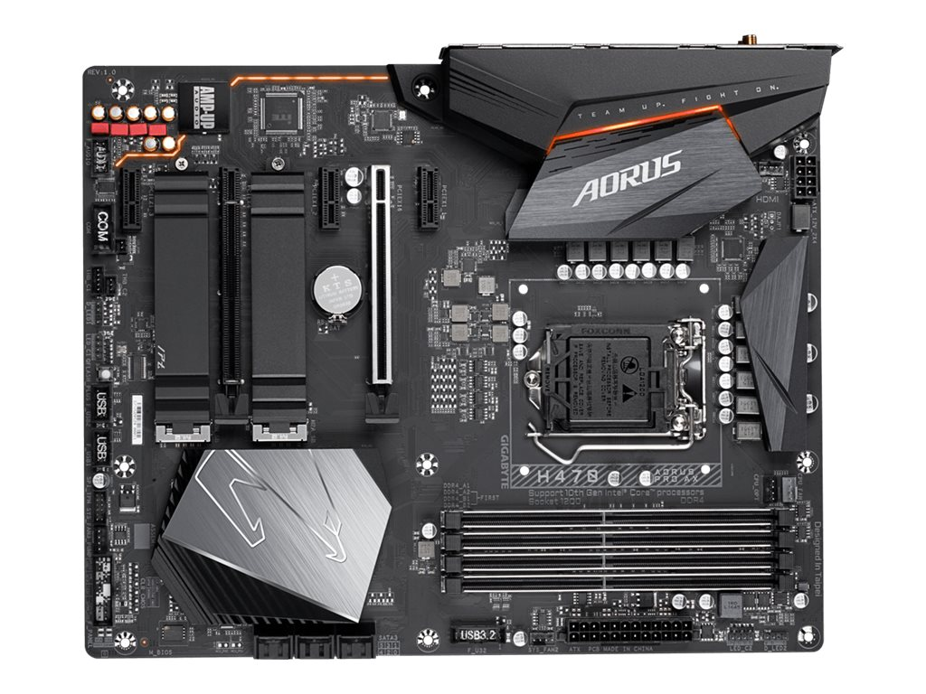 Gigabyte H470 AORUS PRO AX - 1.0 - motherboard - LGA1200 Socket - H470