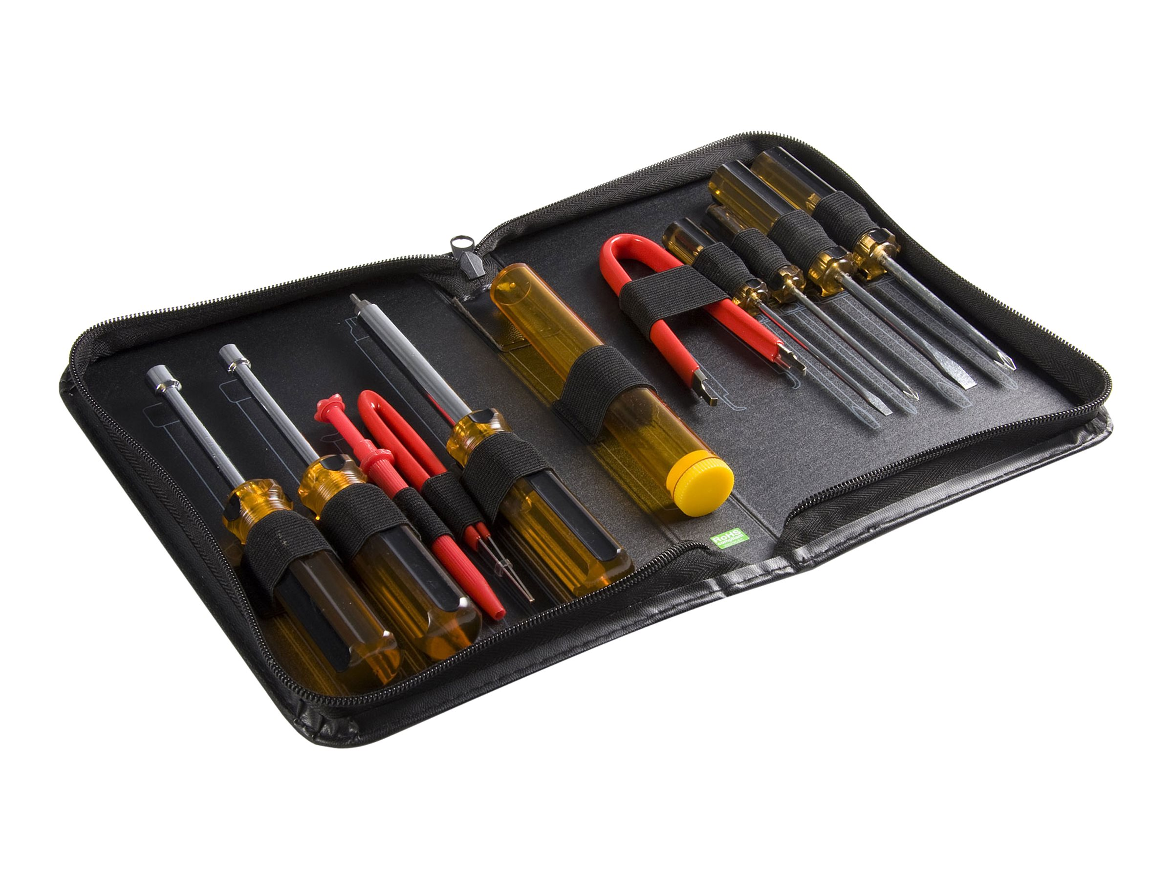 StarTech.com 11 Piece Computer Tool Kit - PC Repair Tool Kit with Zippered Vinyl Carrying Case (CTK200) tool kit
