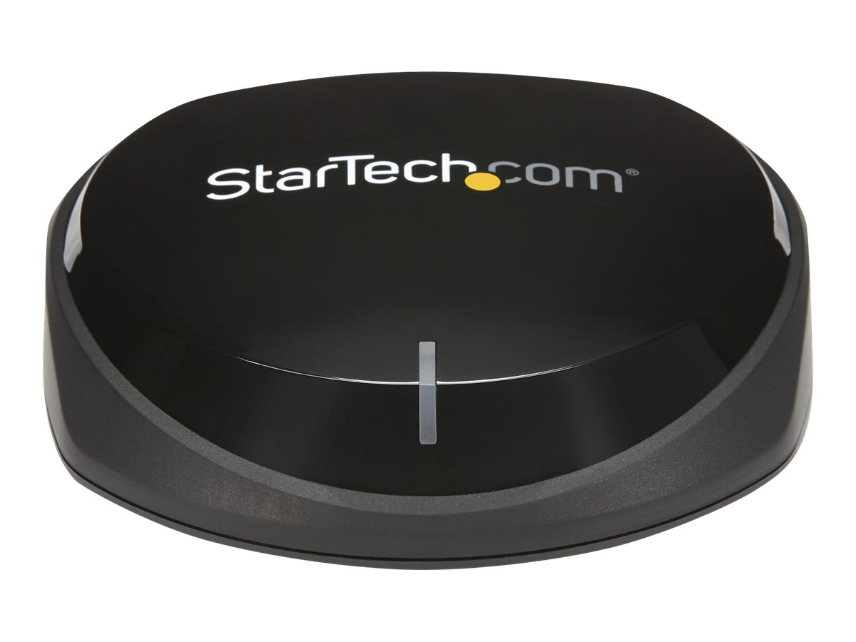 StarTech.com Bluetooth 5.0 Audio Receiver with NFC, Bluetooth Wireless Audio Adapter BT 5.0, 66ft (20m) Range, 3.5mm/RCA or Digital Toslink/SPDIF Optical Output, Lossless HiFi Wolfson DAC - For Stereos/Speakers - Bluetooth wireless audio receiver