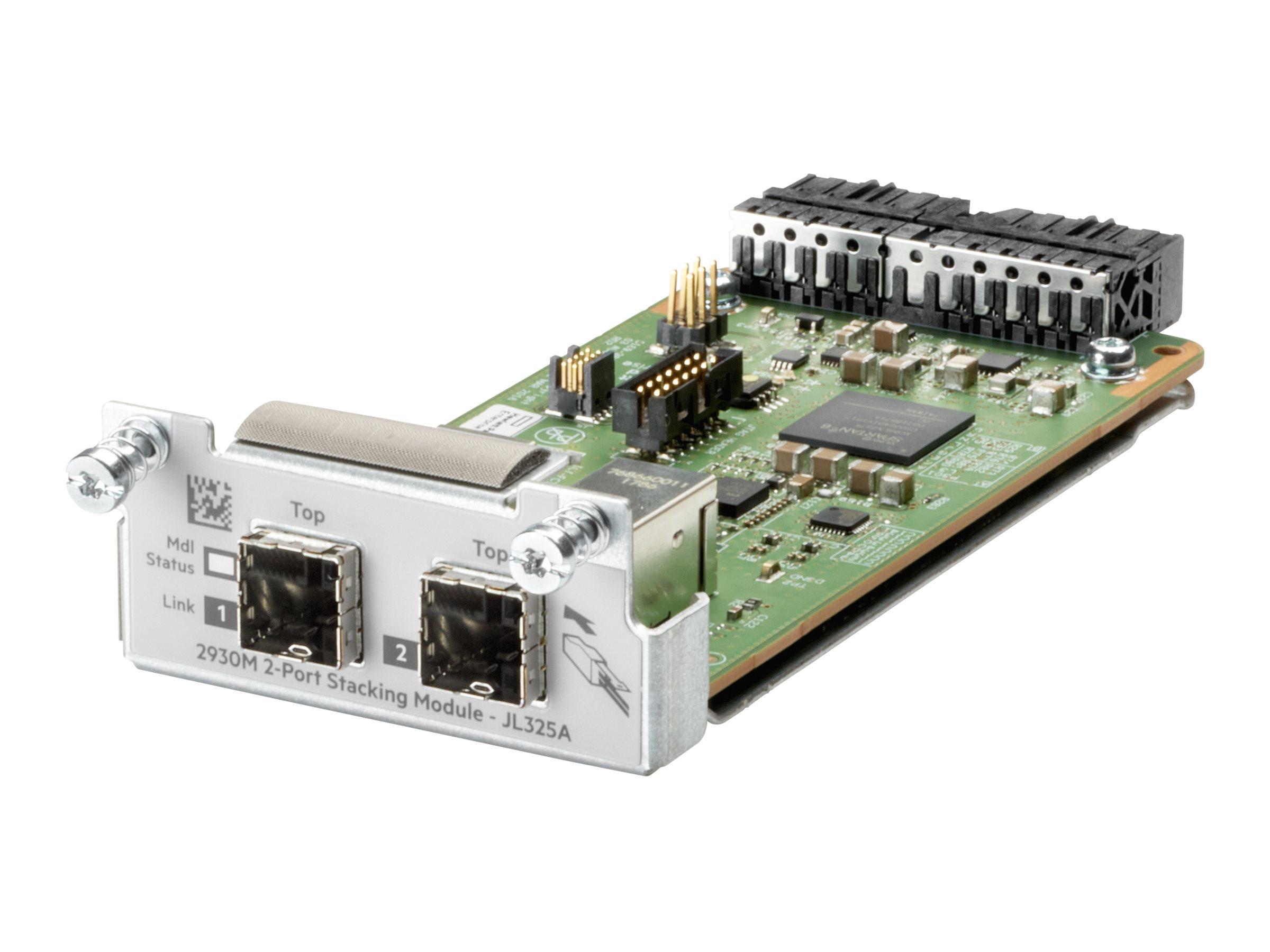 HPE Aruba - network stacking module 2