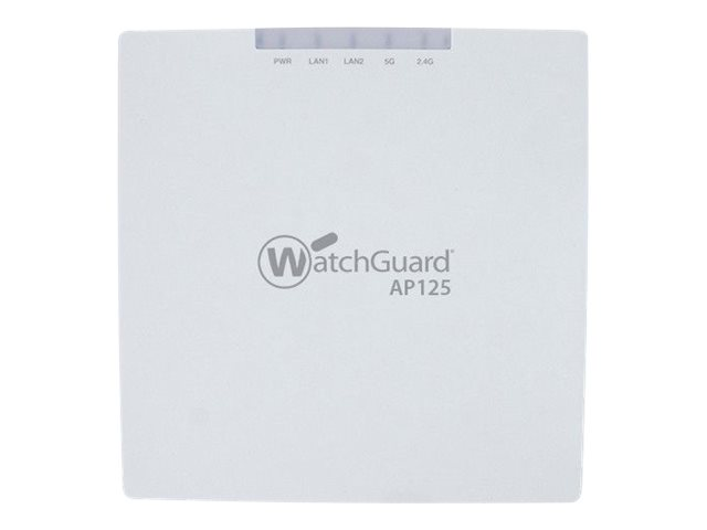 WatchGuard AP125 - wireless access point - Competitive Trade In - with 3 years Secure Wi-Fi