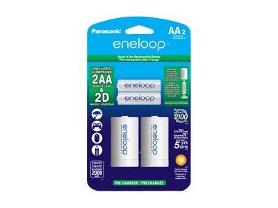 Panasonic eneloop K-KJS1MCA2BA battery - 2 x AA type - NiMH
