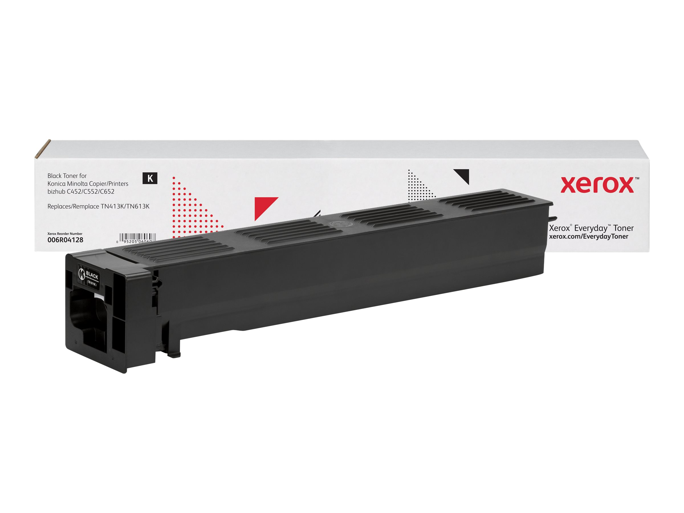 Xerox Everyday - black - toner cartridge (alternative for: Konica Minolta TN613K, Konica Minolta TN413K)