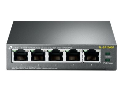 TP-Link TL-SF1005P - switch - 5 ports - unmanaged