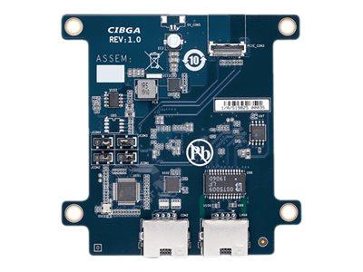 Gigabyte GB-BRCML-DLC - network / serial adapter - 1000Base-T x 1 + serial x 1