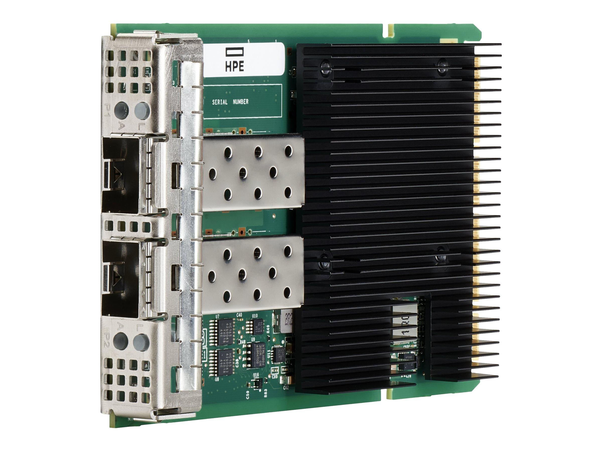 Broadcom BCM57414 - network adapter - OCP 3.0 - Gigabit Ethernet / 10Gb Ethernet / 25Gb Ethernet SFP28 x 2