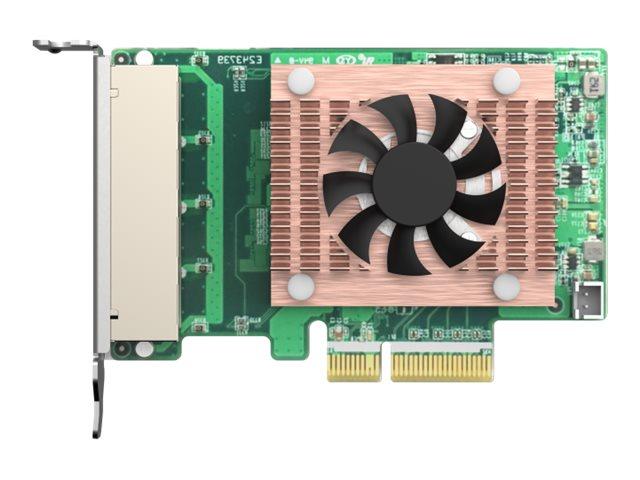 QNAP QXG-2G4T-I225 - network adapter - PCIe 2.0 x4 - 2.5GBase-T x 4