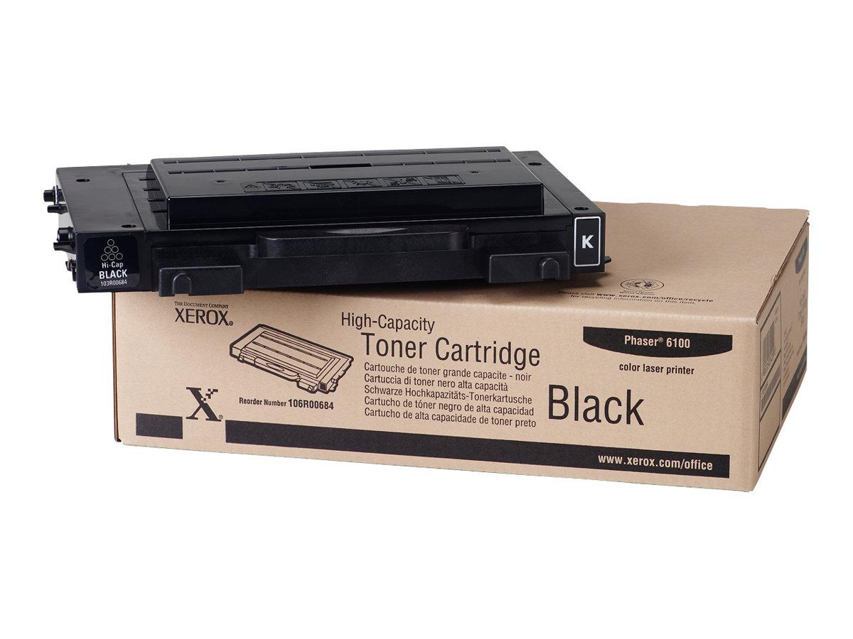 Xerox High-Capacity Phaser 6100 - High Capacity - black - original - toner cartridge