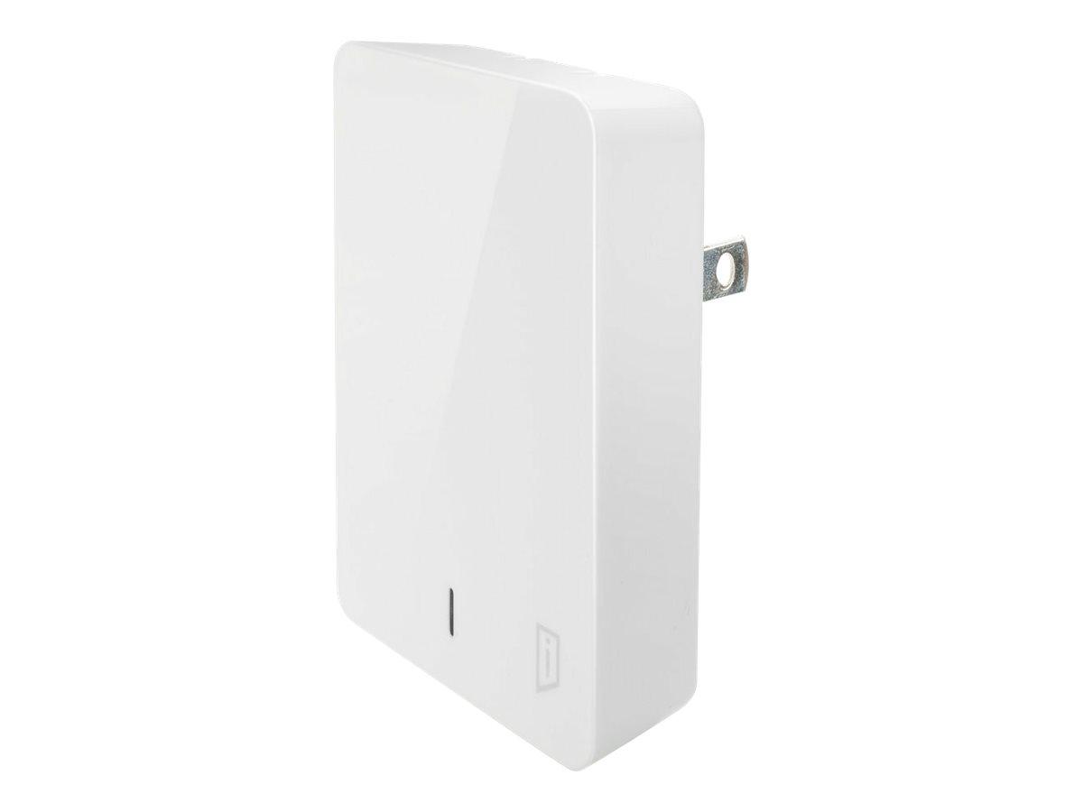iStore Slim Vertical Wall Charger power adapter - USB, USB-C - 24 Watt
