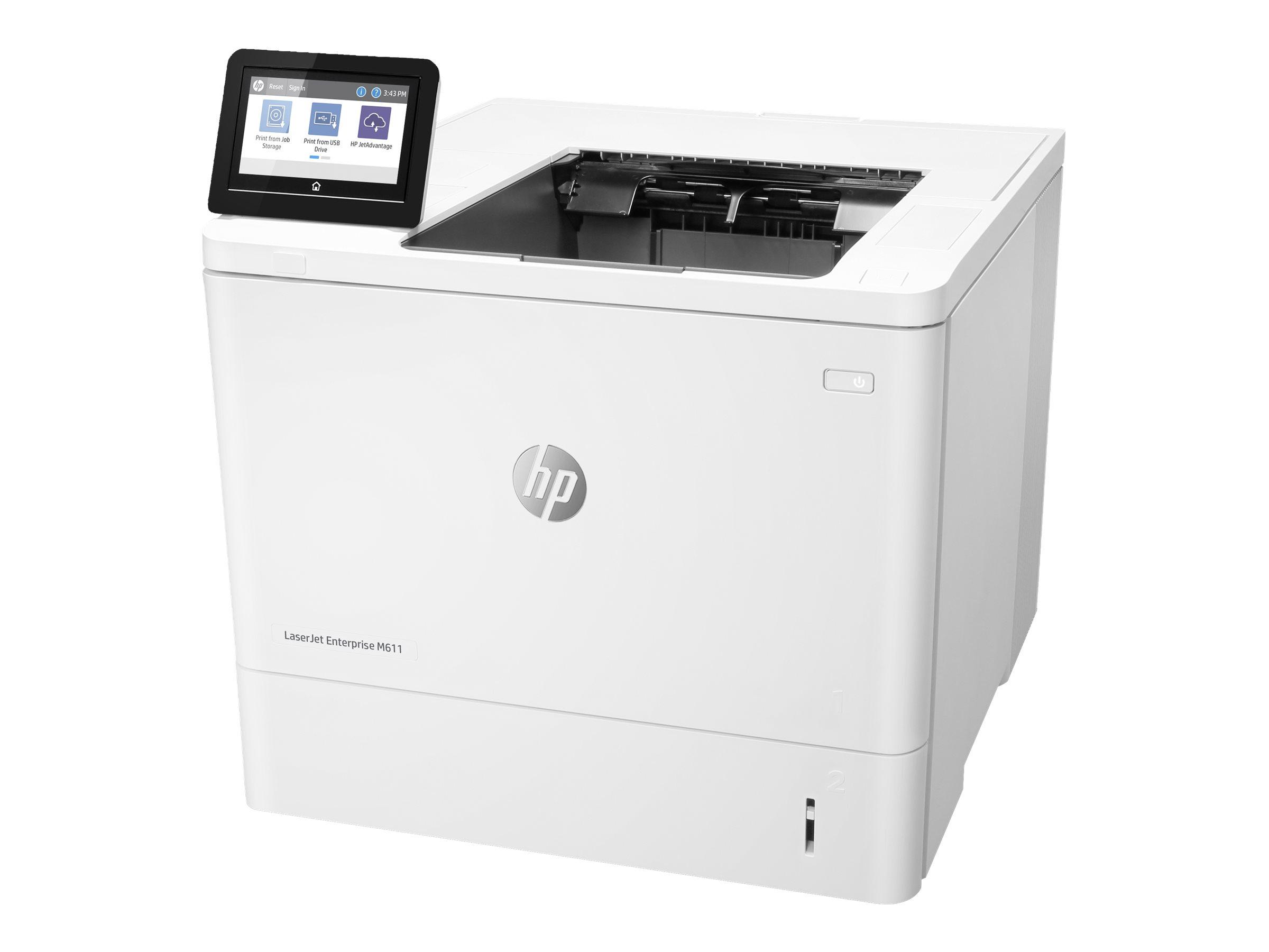HP LaserJet Enterprise M611dn - printer - B/W - la...