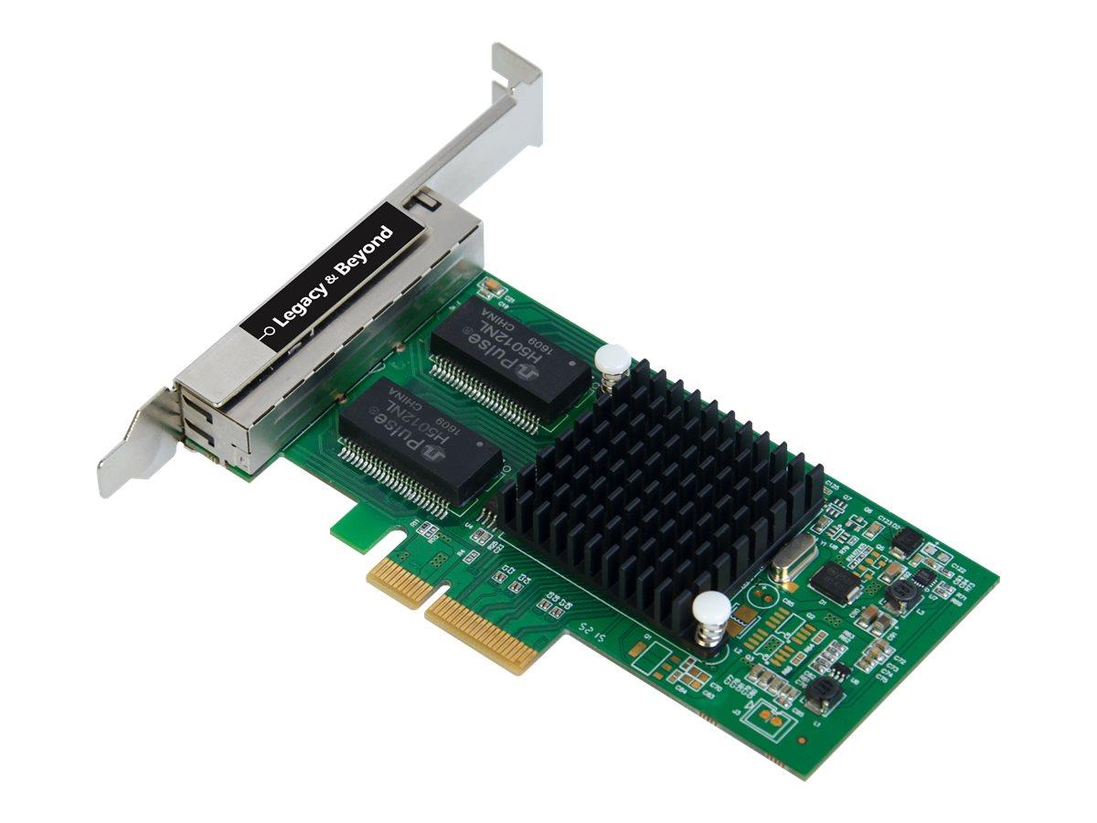 SIIG Quad-Port Gigabit Ethernet PCIe 4-Lane Card - I350-T4 - network adapter - PCIe x4 - Gigabit Ethernet x 4