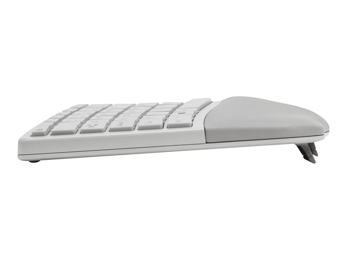 Kensington Pro Fit Ergo Wireless Keyboard and Mouse - keyboard and mouse set - US - gray
