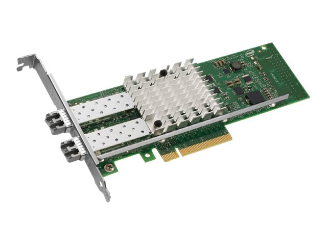 Intel Ethernet Converged Network Adapter X520-SR2 - network adapter - PCIe 2.0 x8 - 10GBase-SR x 2