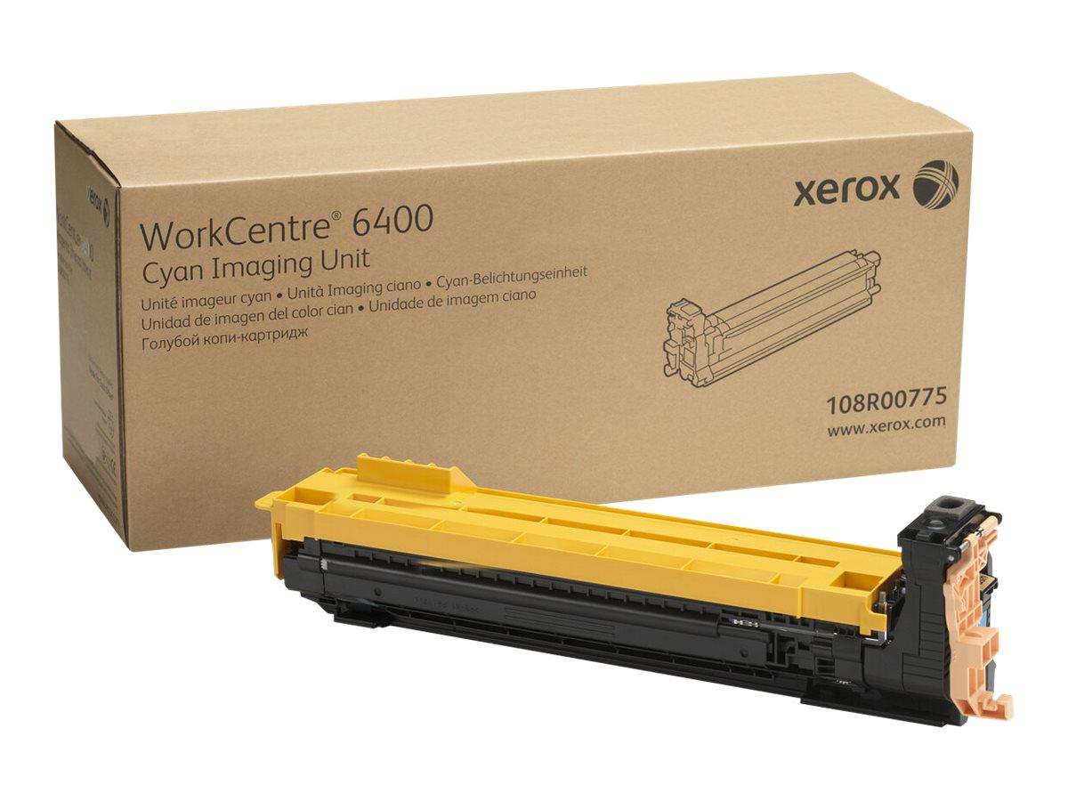 Xerox WorkCentre 6400 - cyan - original - drum kit