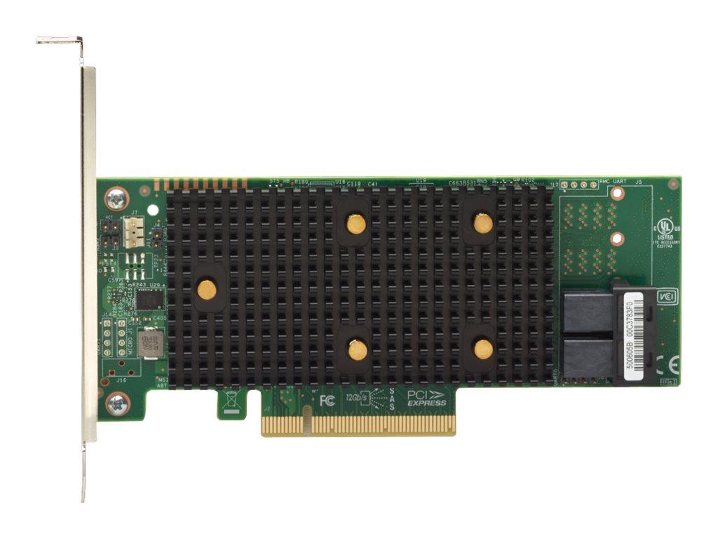Lenovo ThinkSystem 430-8i - storage controller - SATA / SAS 12Gb/s - PCIe 3.0 x8