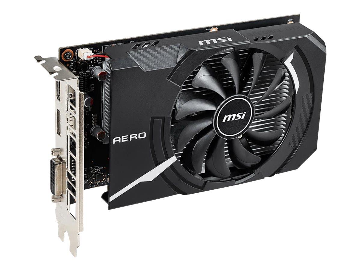 MSI GTX 1650 D6 AERO ITX OC - OC Edition - graphics card - GF GTX 1650 - 4 GB