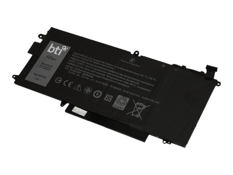 BTI K5XWW-BTI - notebook battery - Li-pol - 7894 mAh - 60 Wh
