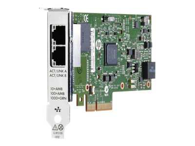 HPE 361T - network adapter - PCIe 2.0 x4 - Gigabit Ethernet x 2