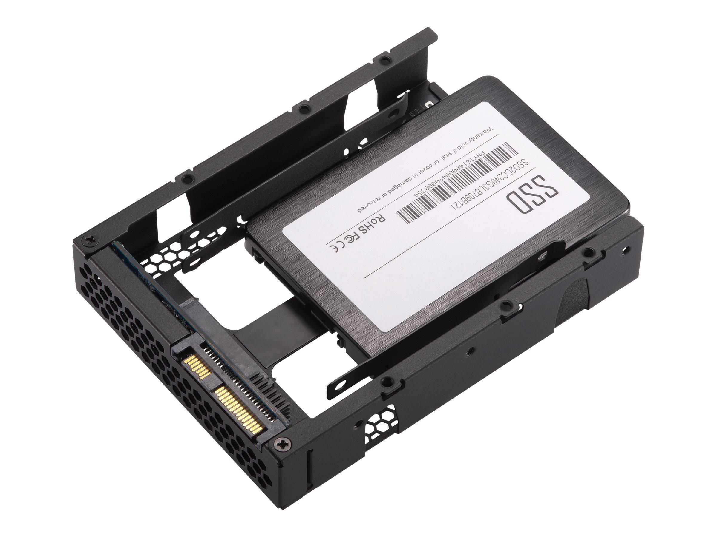 QNAP QDA-SA2 - interface adapter - SATA 6Gb/s - SAS 6Gb/s