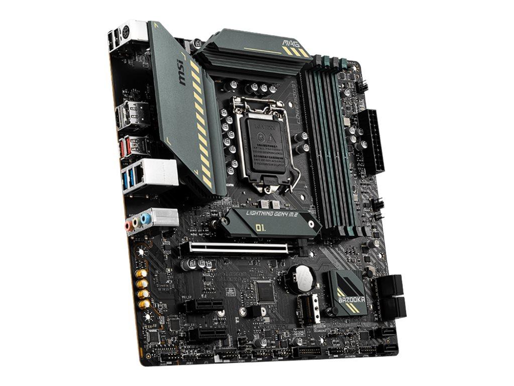 MSI MAG B560M BAZOOKA - motherboard - micro ATX - LGA1200 Socket - B560