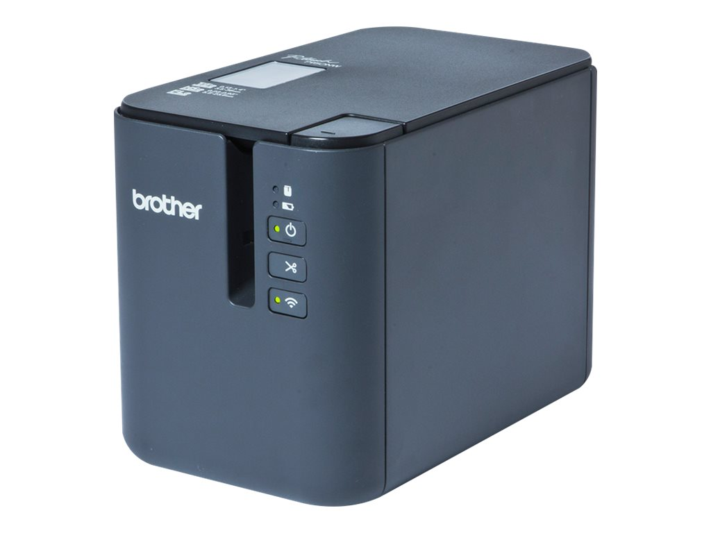 Brother P-Touch PT-P950NW - label printer - B/W - thermal transfer