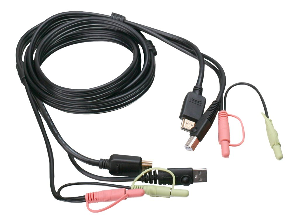 IOGEAR G2L802U - video / USB / audio cable - TAA Compliant - 6 ft
