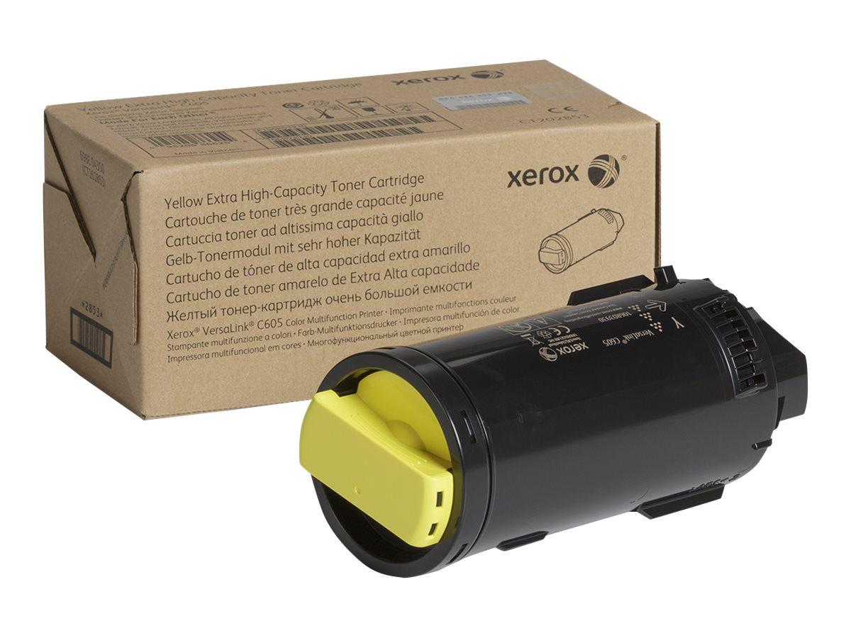 Xerox VersaLink C605 - Extra High Capacity - yellow - original - toner cartridge