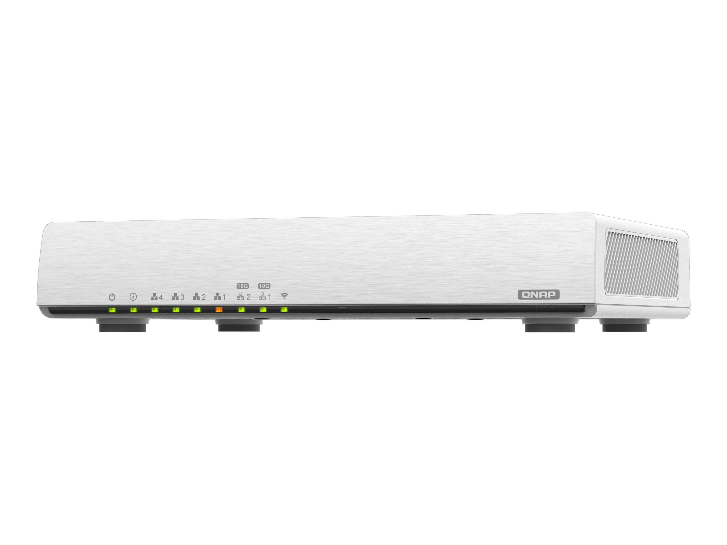 QNAP QHora-301W - wireless router - 802.11a/b/g/n/ac/ax - desktop