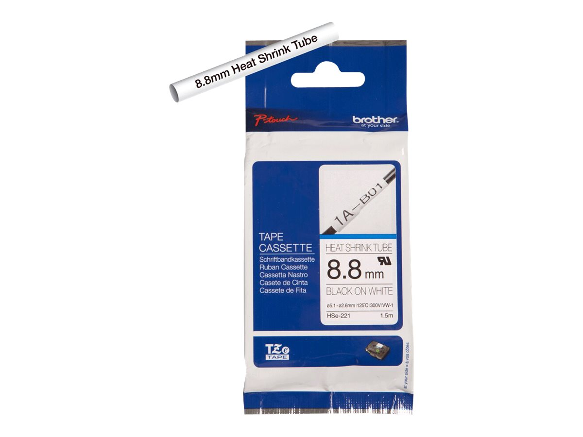 Brother HSe-221 - tube - 1 roll(s) - Roll (0.346 in x 5 ft)