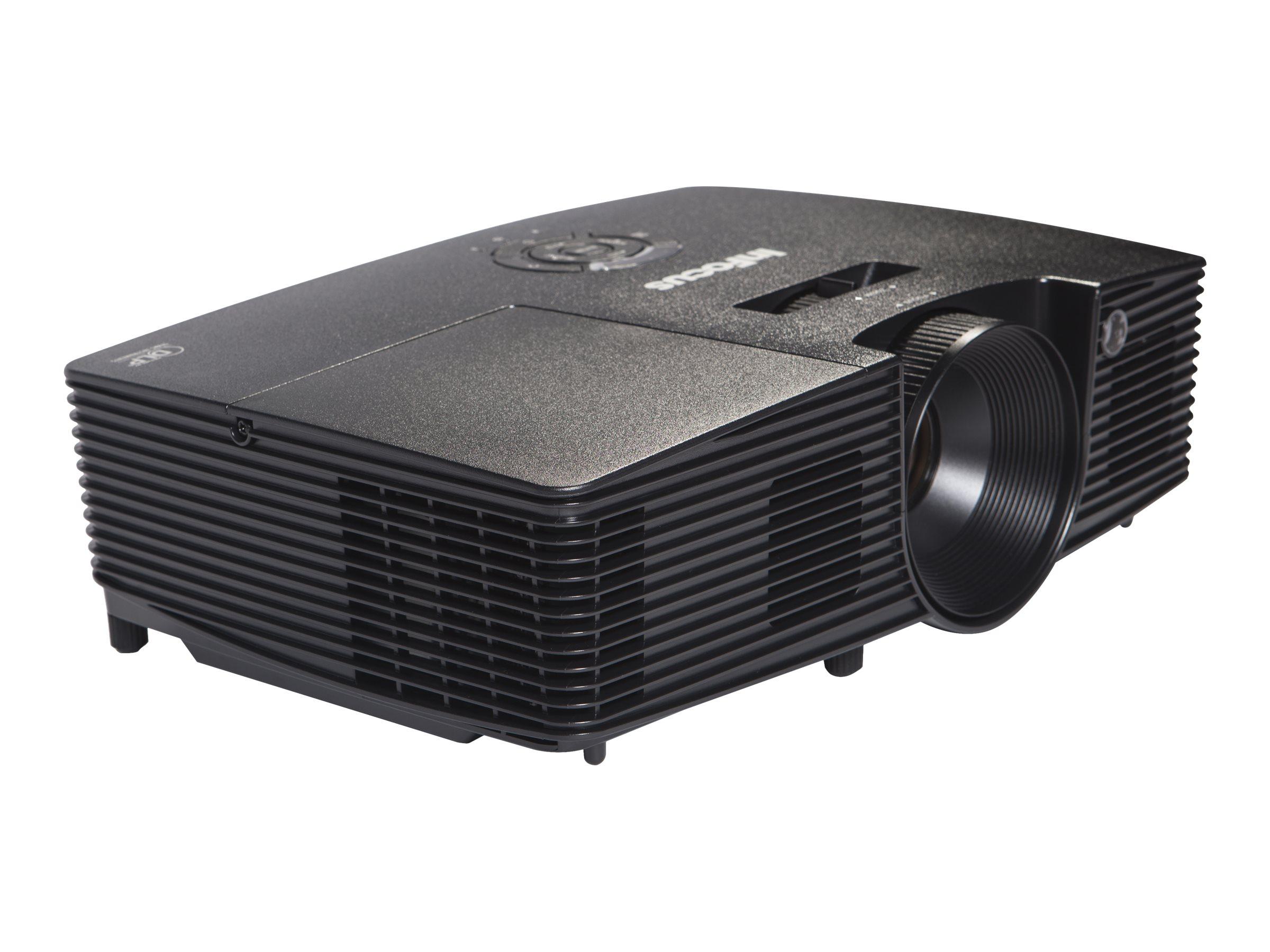 InFocus IN116xv - DLP projector - portable - 3D