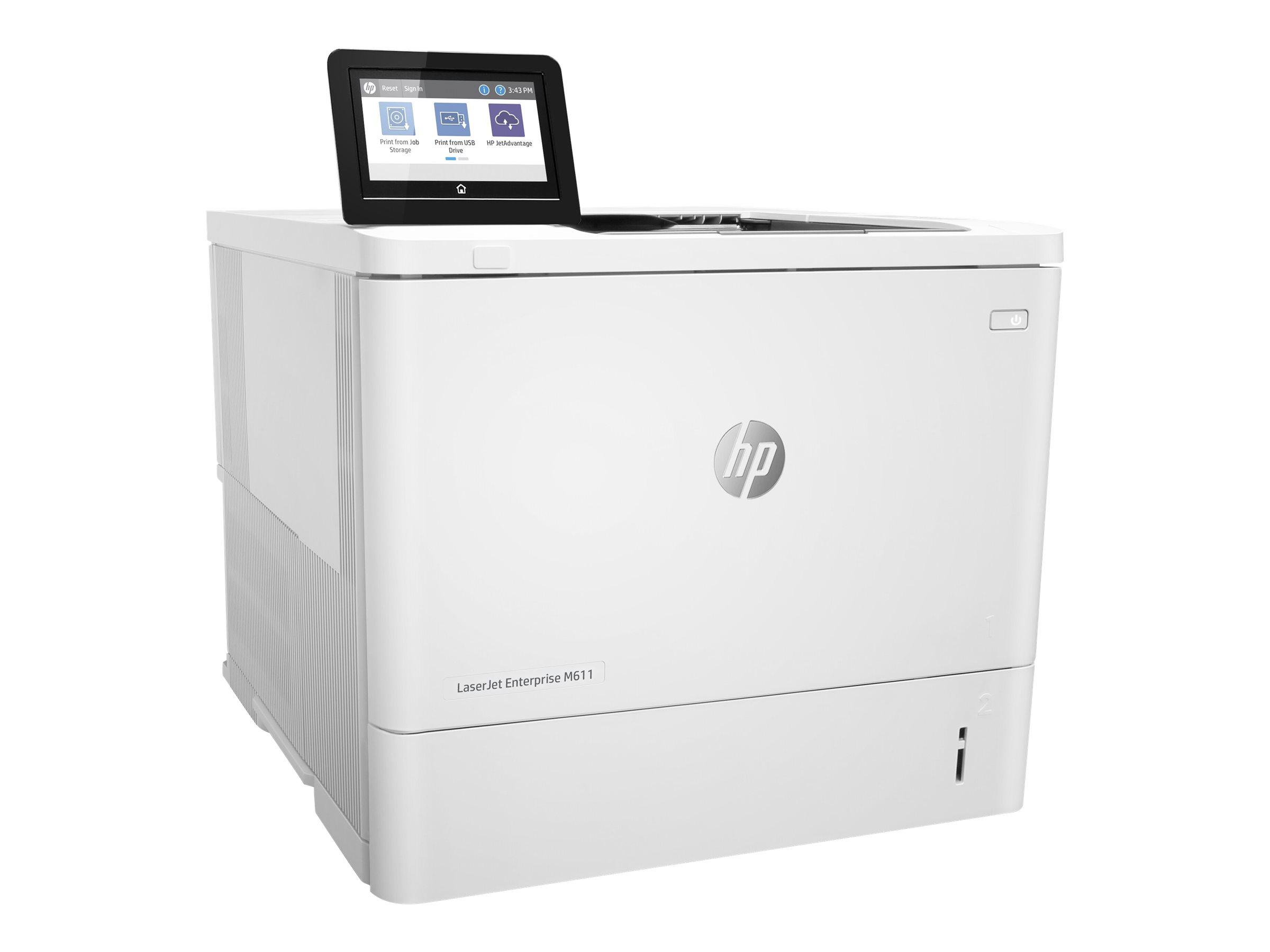 HP LaserJet Enterprise M611dn - printer - B/W - laser